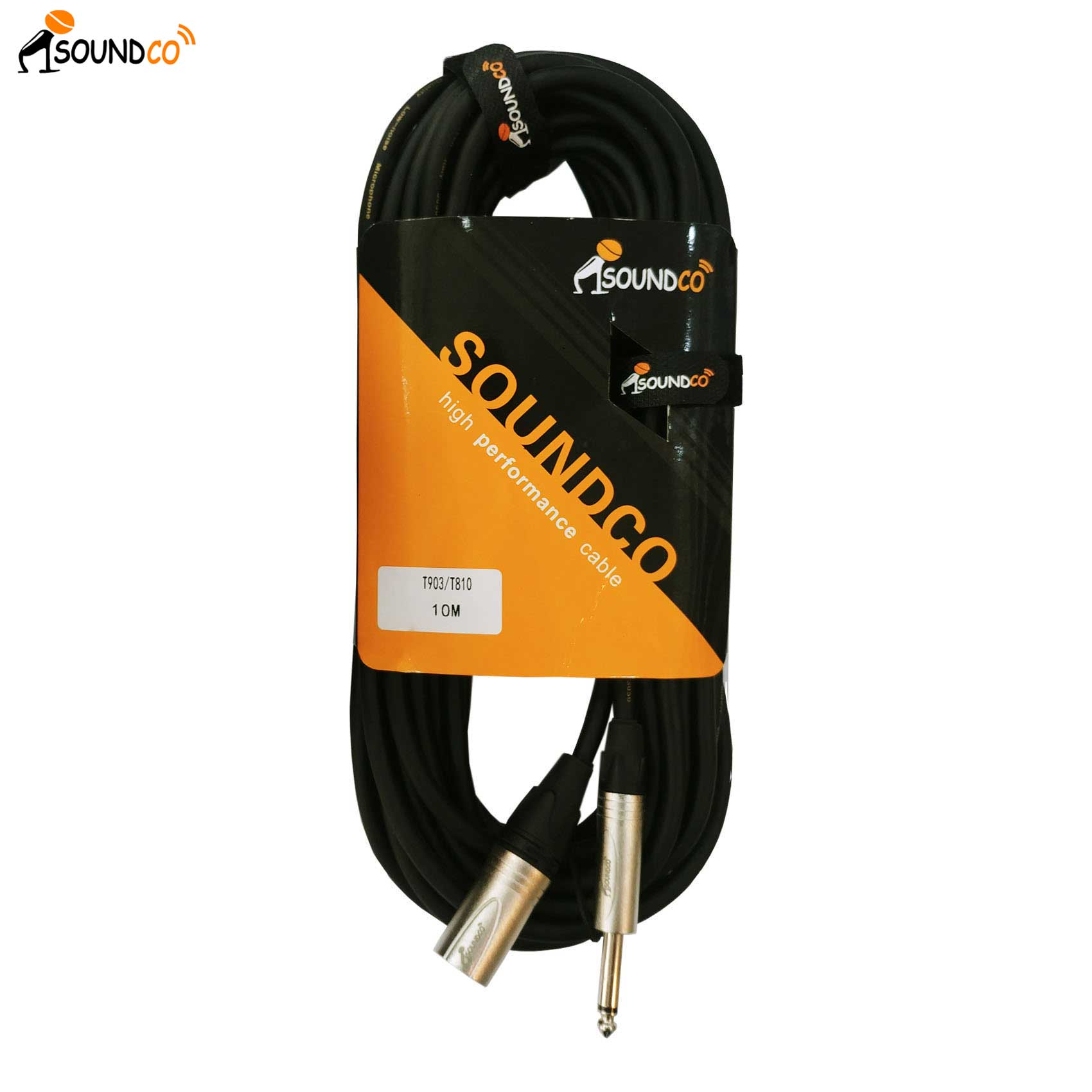 XLR to TRS 10m Cable