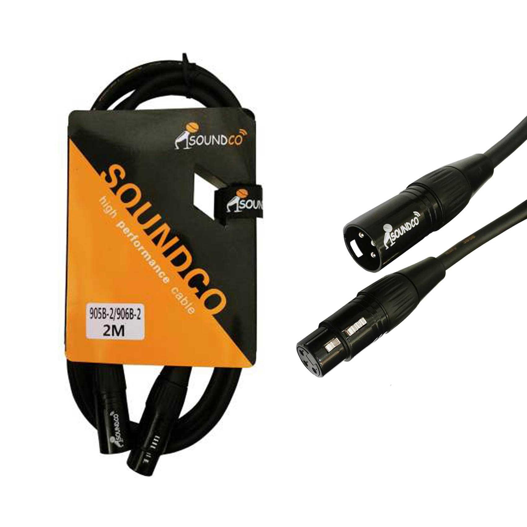 XLR to XLR 2m Cable