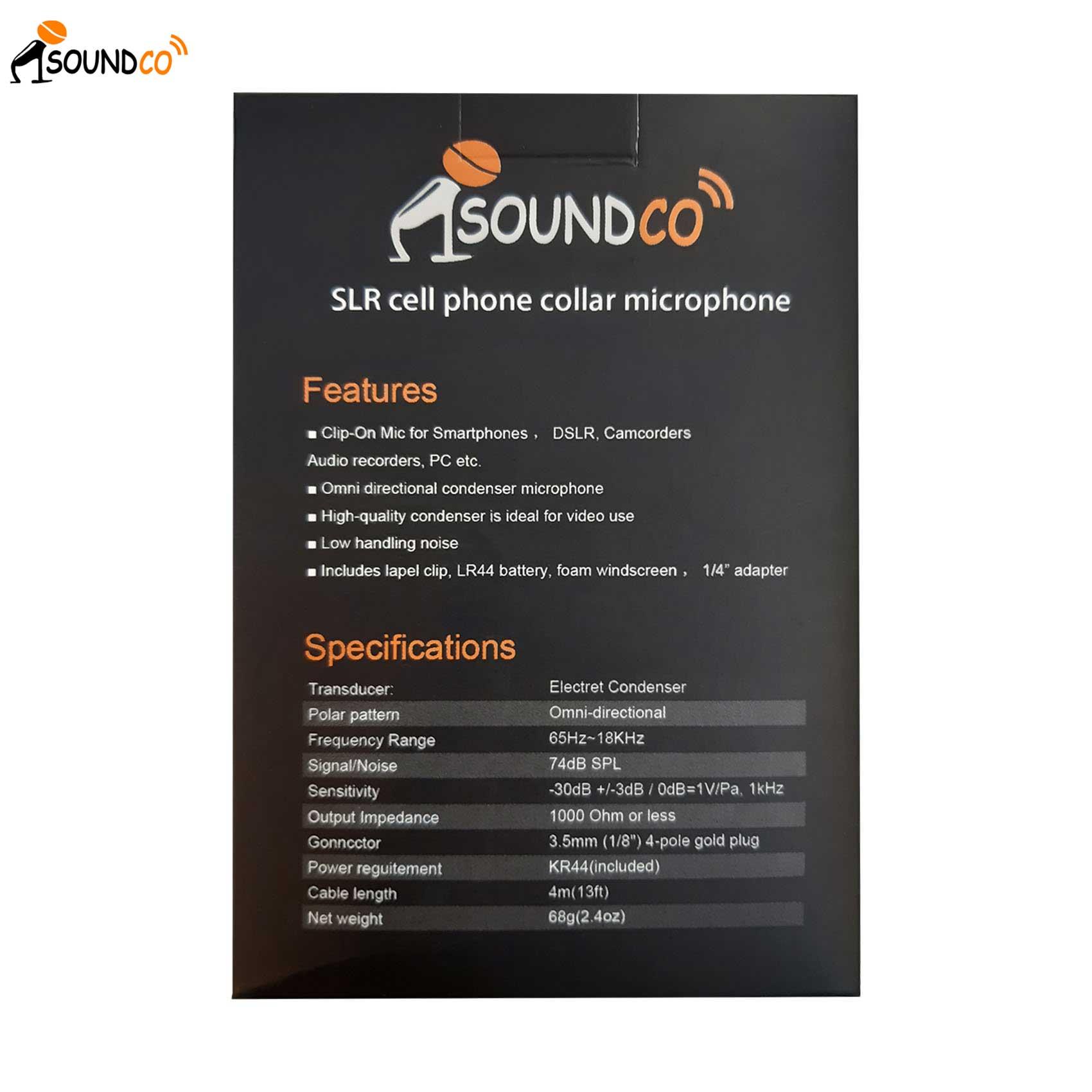 CM Pro Plus Levalier Microphone