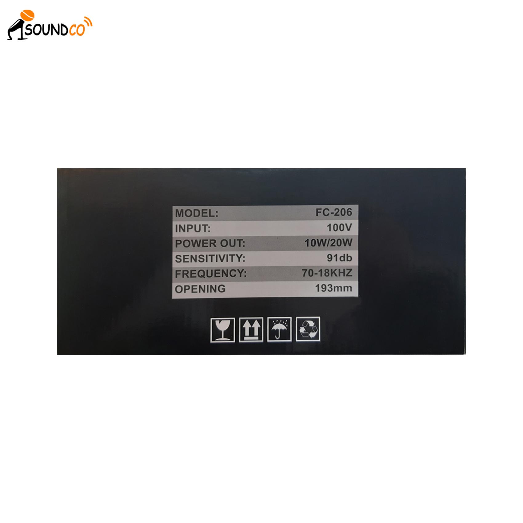 Soundco FC-206 Celing Speaker-3